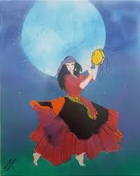 gypsy dancing under the moon - Google Search Dancing In The Moonlight, Under The Moon, Gypsy, Dance, Google Search, Dancing
