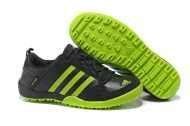 Adidas Læder Udendørs Sko Mænd Sort Fluorescens Grøn