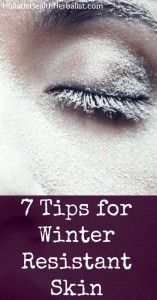 7 Tips for Winter Resistant Skin - Learn my top 7 tips for protecting your skin and keeping it moisturized during the winter months!