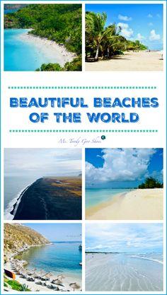 How many of these beautiful beaches around the world have you been to? Beach Day, Beach Trip, Garden State Parkway, Bahia Beach, Kamari Beach, Travel Collage, Deerfield Beach, Long Beach Island, Us Virgin Islands