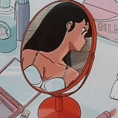 Bad Girl Aesthetic, Red Aesthetic, Aesthetic Anime, Cartoon Profile Pictures, Cute Anime Pics, Aesthetic Pastel Wallpaper, Old Anime, Aesthetic Images, Photo Wall Collage