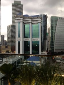 Downtown Kuala Lumpur – View from the Hotel