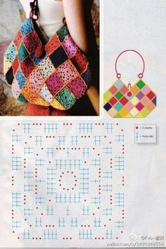 # Crochet bags ý ...... _ images from Boa love of freedom to share - heap Sugar