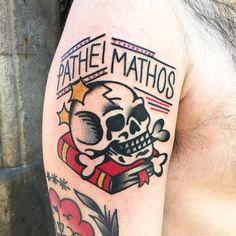 Skull Tattoo done at LTW Tattoo Barcelona    #ltwtattoo #norteone #barcelona