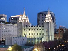 Salt Lake City Temple, Salt Lake City, UT