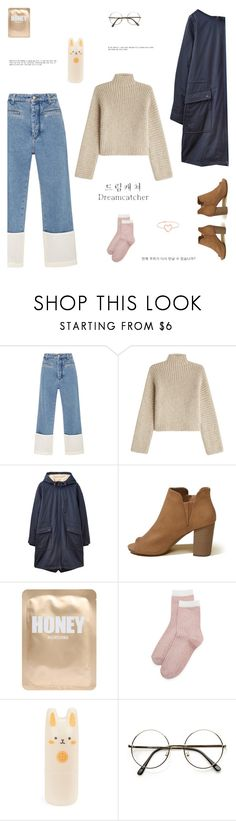 """Dreamcatcher"" by indigochameleon ❤ liked on Polyvore featuring Loewe, Rosetta Getty, Joules, Hollister Co., Lapcos, Liana Clothing, Tony Moly, Again and Love Is"