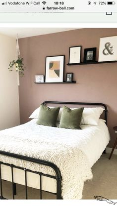 And another room bites the dust! Took me a while to talk my teenager around to changing her bedroom but she loves it now! Just a light to… is part of Pink bedroom walls - Pink Bedroom Walls, Pink Bedroom Decor, Bedroom Wall Colors, Room Ideas Bedroom, Bedroom Green, Home Bedroom, Modern Bedroom, Contemporary Bedroom, Bed Room