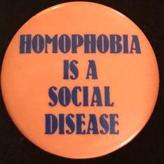 Homophobia is a social disease