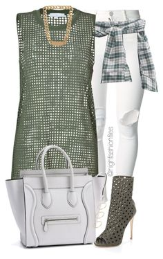 """""""Olive"""" by highfashionfiles ❤ liked on Polyvore featuring (+) PEOPLE, IRO, Giuseppe Zanotti, Balenciaga and ASOS"""