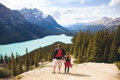 Peyto Lake - one of many places to explore along the beautiful Icefields Parkway in Banff National Park.