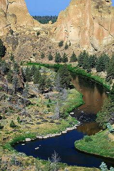 Smith Rock State Park - Central Oregon on the Crooked River