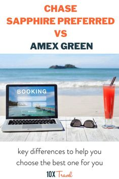 Chase Sapphire Preferred and Amex Green Card is now looking more similar than ever, we'll dissect the key differences below so you can figure out which one is best for you. #bestcreditcards #rewardpoints #10xtravel Best Credit Card Offers, Best Travel Credit Cards, Rewards Credit Cards, Hotel Rewards, Travel Rewards, Credit Card Points, Credit Score, Ways To Travel, Travel Tips