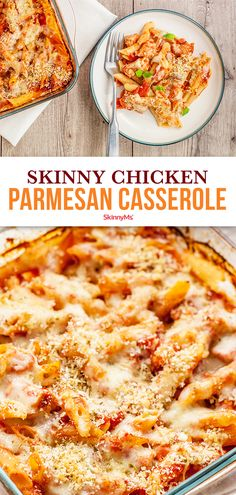 At the end of the day this skinny chicken Parmesan casserole is not only healthy but it tastes great too! At the end of the day this skinny chicken Parmesan casserole is not only healthy but it tastes great too! Healthy Chicken Casserole, Chicken Parmesan Casserole, Healthy Casserole Recipes, Chicken Parmesan Recipes, Healthy Dinner Recipes, Vegetarian Recipes, Recipe Chicken, Keto Chicken, Skinnytaste Chicken Parmesan