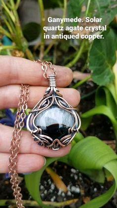 Wire Jewelry Patterns, Handmade Wire Jewelry, Artisan Jewelry, Wire Wrapped Pendant, Wire Wrapped Jewelry, Homemade Jewelry, Wishful Thinking, Heavy Metal, Wire Wrapping