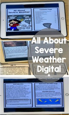 All about severe weather activities for 2nd graders includes this handy product that discusses natural disasters and how to prepare for bad weather during a watch and a warning. Digital version can be used in your one-to-one or digital center classrooms. Click on the link to find out more.  #severeweatherprepardness #severeweatherreader #severeweatheractivities #severeweatherforkids #secondgrade #tdeboreeteachingandlearning #digitalreader #digitalscience #googleclassroom