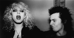 Nancy Spungen and Sid Vicous