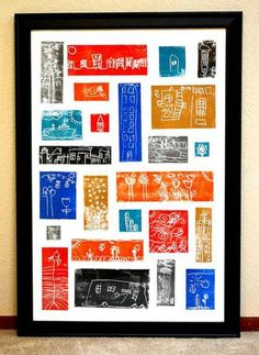 Have each child in the class draw their version of the local cityscape for a truly unique piece of wall art that can be hung in the winning bidder's home. Sure to be colorful and filled with interesting takes on the city, this is a fun project that everyone can get involved in creating. Source: Alcott Auction