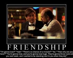 Friendship from the West Wing