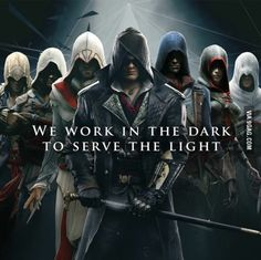 How many of you would join the league of assassins if it was real