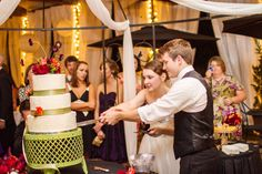 Let them eat cake!  Photo by Project: Life Photography