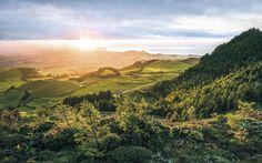 Poster XXL panoramique intissé « Paradise Island » (SH071-VD4) de Komar | Stefan Hefele