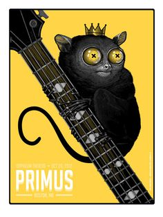 Primus Poster Series - Boston, MA by Mike Mitchell