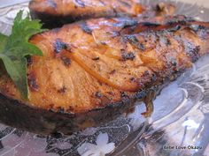 Grilled Miso Glazed Salmon (Sake No Misozuke)