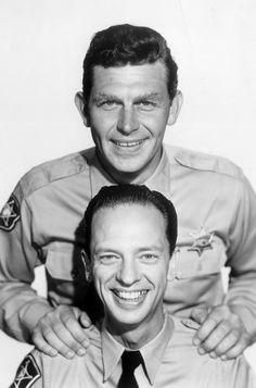 Andy Griffith & Don Knotts from The Andy Griffith Show Classic Hollywood, Old Hollywood, Barney Fife, Don Knotts, The Andy Griffith Show, Cinema, Old Tv Shows, Classic Tv, Thanks For The Memories