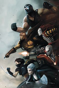 the secret six (if your a deadpool fan I recomened this series)