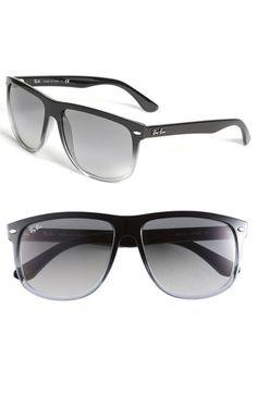 719175d4dd Ray-Ban  Boyfriend  Flat Top Frame Sunglasses
