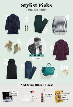 Stylist Picks: August Edition