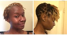 Day 1 To 1 Year Loc'd #longlivelocs #locs #shortlocstyles #locupdo #locjourney #loclivin