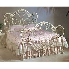 The ultimate iron bed. Corsican Furniture Company | www.corsican.com