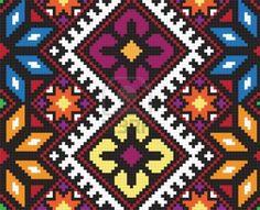 Ukrainian ethnic seamless ornament,