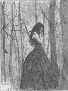 Fallen by Night-Exposure on deviantART Courtney's Edition of the cover of Fallen by Lauren Kate; drawn August 10th, 2010