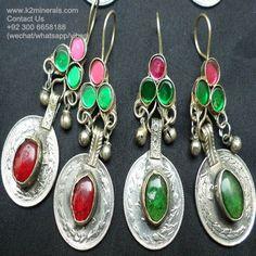 kuchi banjara earrings gypsy earrings boho earrings