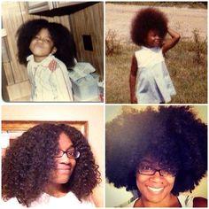 #stillabigcurlykid @curlBOX  #hairstory #texture #nappy #curly #coily #curls #fro #wavy #natural #naturals #kinks #coils #spirals  #hairtype #gotfrizz #mane #hair  #knots #kinky #naturalhair