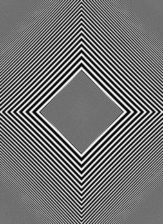 OTAKU GANGSTA, geometric art, lines, black and white