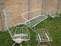 52 Best Vintage Mid Century Patio Furniture Images Chairs