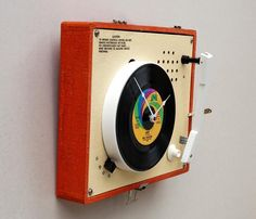 Imperial Record Player Clock