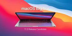 Hace solo una hora que ha finalizado el evento de Apple, y ya ha liberado las «Release Candidate» de los... Mac Os, Big Sur, Spring, Electronics, Musica, Big Sur California, Consumer Electronics