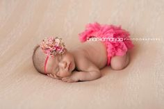Pink Floral Lotus Flower Headband