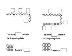 Montessori-Squaring-Chains-Skip-Counting-Book-357210 Teaching Resources - TeachersPayTeachers.com