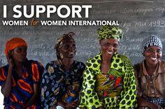 Women for Women International #nonprofit