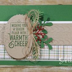 Happy World Card Making day! There is a slight chill in the air which made this card even more fun to create.  Are you ready for sweater weather? Visit my blog today and see how your handmade cards can resemble sweater weather and a great promotion!! Link