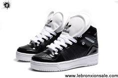 Buy 2013 New Adidas Attitude Logo Double Heart Tongue Shoes Black For Sale
