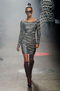 New York Fashion week F/W 2015-2016 Tracy Reese #silkgiftmilan #catwalk #fashion #personalstylist #imageconsultant #trend