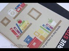 Simon Says Stamp September 2014 Card Kit | True Story Card - YouTube