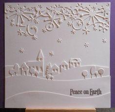 white on white Christmas