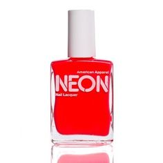 American Apparel Nail Lacquer in Neon Red